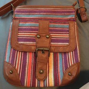 Handbags - Cross body bag. Some pilling on the back.
